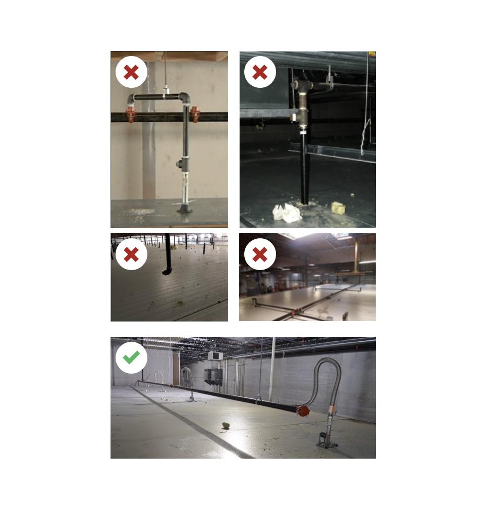 Rociadores Secos AB6 para cámaras frigoríficas